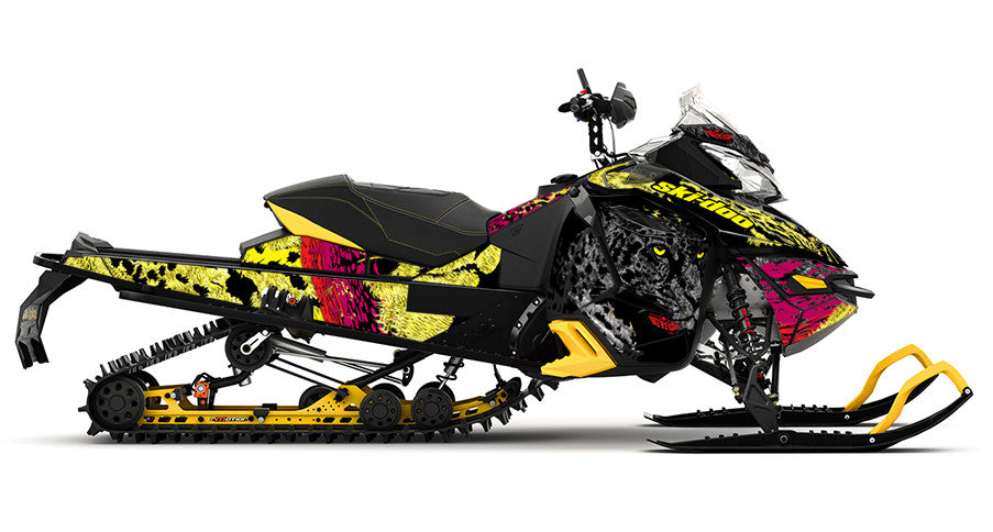 On the Prowl REV-XS Sled Wrap Decal