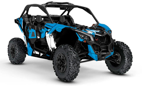 Maverick X3 Only Can Am Endorsed Graphics Scs Unlimited