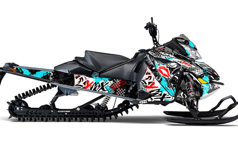 Powder Advisory LYNX REX2 Sled Wraps