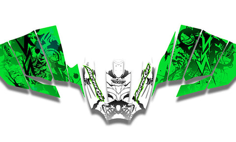 Psycho Analysis Arctic Cat Sno Pro Racer Sled Wraps
