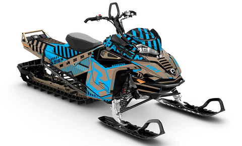 Radien Warning sled wraps - SCS Unlimited