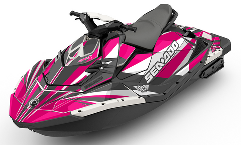 Rays Magenta Sea-Doo SPARK Graphics Kit