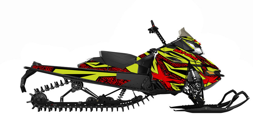 Repeater REV-XM Sled Wrap Decal