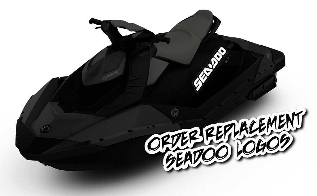 Replacement Sea-Doo logos Water - SCS Unlimited