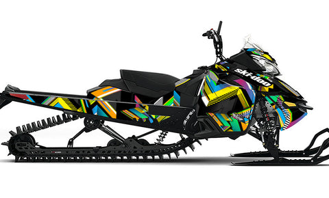 RetroSpect CMYK REV-XM Sled Wrap Decal