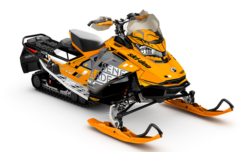 Rizzo Ski-Doo Gen4 Sled Wrap - SCS Unlimited