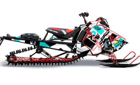 Ruler | Polaris AXYS Snowmobile Sled Wraps & Graphics