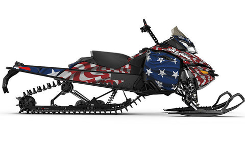 Screaming Freedom REV-XM Sled Wrap Decal
