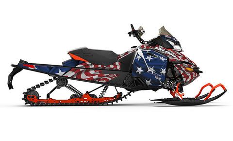 Screaming Freedom REV-XS Sled Wrap Decal