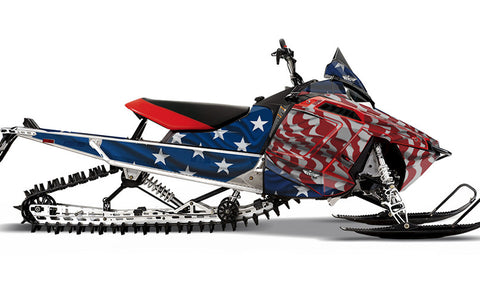 Screaming Freedom PRO-RMK Sled Wraps Decals