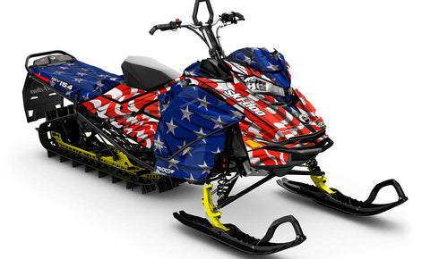 Screaming Freedom Ski-Doo Gen4 Sled Wrap - SCS Unlimited