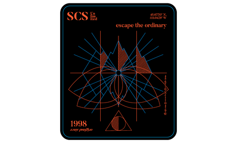 Escape the Ordinary Sticker - SCS Unlimited