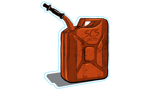 Gas Can Sticker - SCS Unlimited