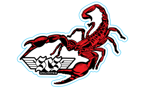 Scorpion Sticker - SCS Unlimited