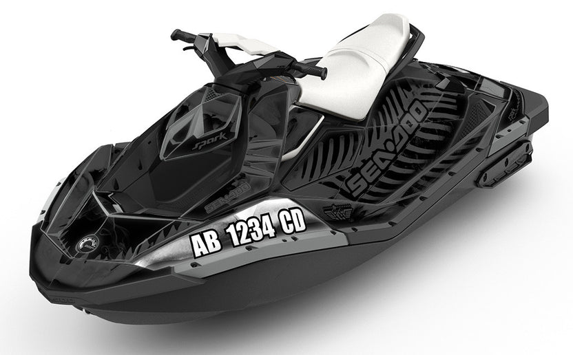 Registration Numbers For Sea Doo Spark And Watercraft