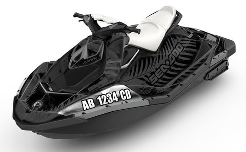 Registration Numbers Sea-Doo - SCS Unlimited