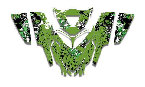 Sierra Club Sucks Arctic Cat M-Series Crossfire Sled Wraps