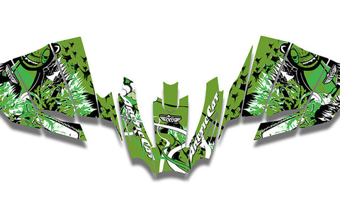 Sierra Club Sucks Arctic Cat Sno Pro Racer Sled Wraps