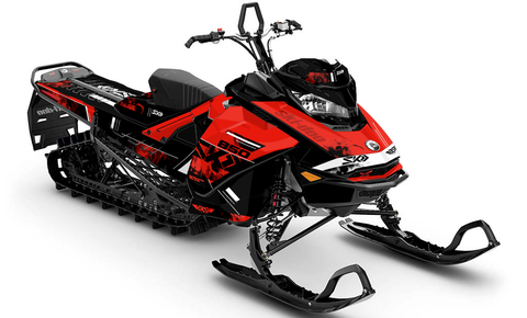 Smokeshow Ski-Doo Gen4 Sled Wrap - SCS Unlimited