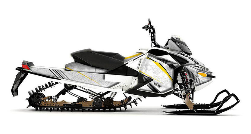 Snow Camo Sled Wraps - SCS Unlimited