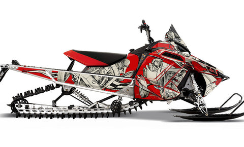 Squindo Drag Ski PRO-RMK Sled Wraps Decals