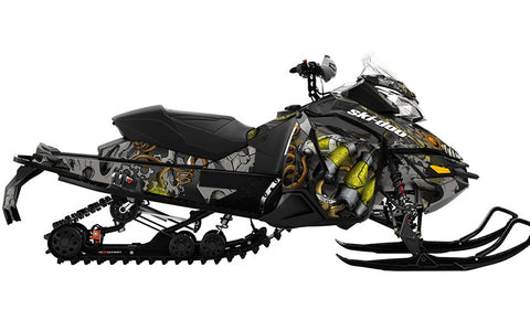Squindo Master Lab REV-XS Sled Wrap Decal