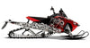Squindo Skulls PRO-RMK Sled Wraps Decals