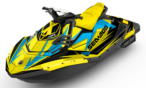 Starfish Sea-Doo SPARK Graphics Kit