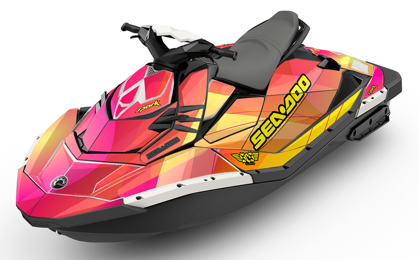 Sunburst Sea-Doo SPARK Graphics Kit