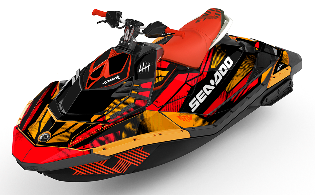 Tally Sea-Doo Spark Graphics - SCS Unlimited