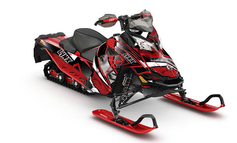 Temptation LYNX REX2 Sled Wraps