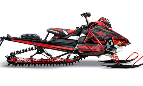 Titan | Polaris AXYS Snowmobile Sled Wraps & Graphics