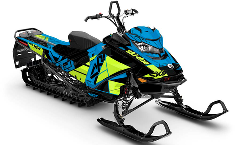 Top Shelf Ski-Doo Gen4 Sled Wrap