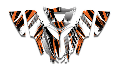 Unlimited Arctic Cat M-Series Crossfire Sled Wraps