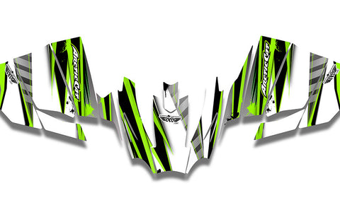 Unlimited Arctic Cat Sno Pro Racer Sled Wraps