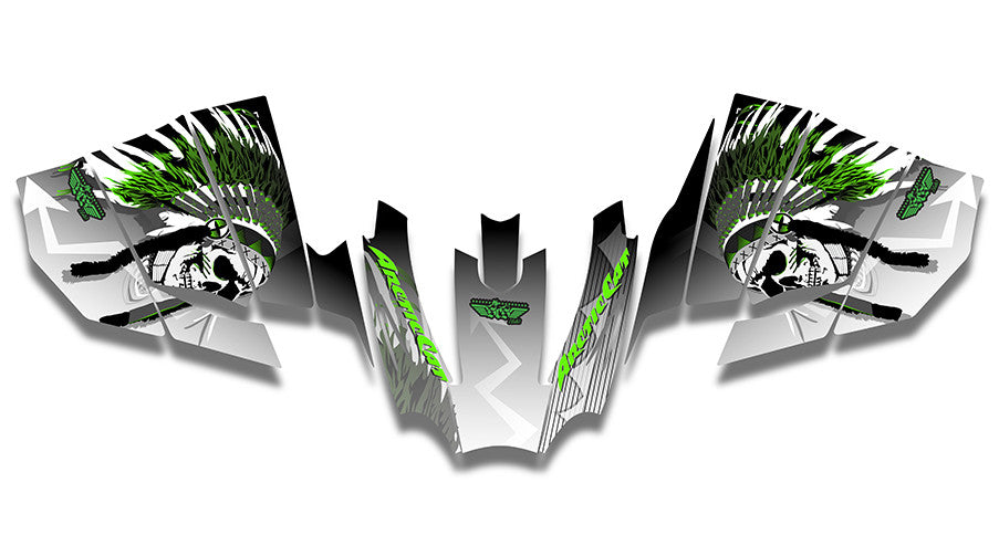 Warrior Arctic Cat Sno Pro Racer Sled Wraps