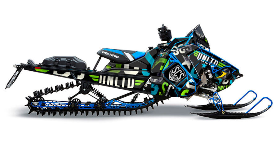 Washed Up	 | Polaris AXYS Snowmobile Sled Wraps & Graphics
