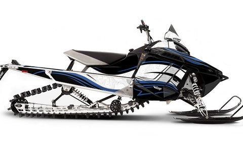 Wild West PRO-RMK Sled Wraps Decals