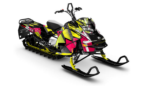Winger Ski-Doo Gen4 Sled Wrap - SCS Unlimited