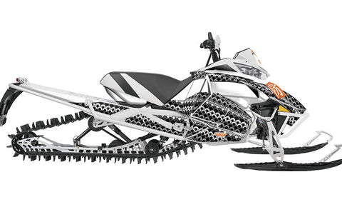 Winter Bloom  Arctic Cat Pro Climb Sled Wraps