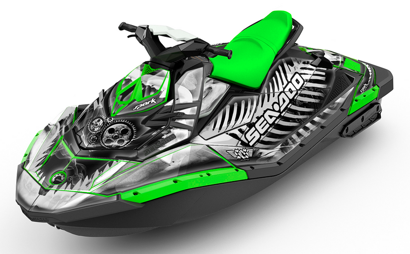 X Ray Sea-Doo SPARK Graphics Kit
