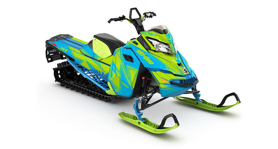 Zinger REV-XM Sled Wrap Decal
