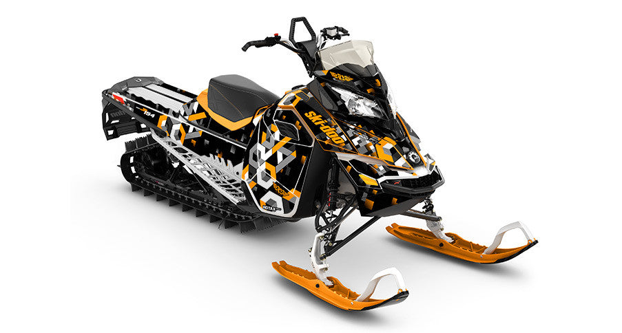 Analog Ski-Doo REV-XM Sled Wrap - SCS Unlimited