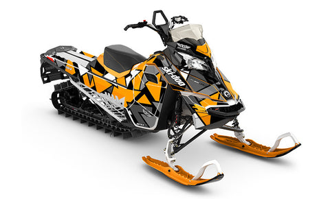 Antidote Ski-Doo REV-XM Sled Wrap - SCS Unlimited