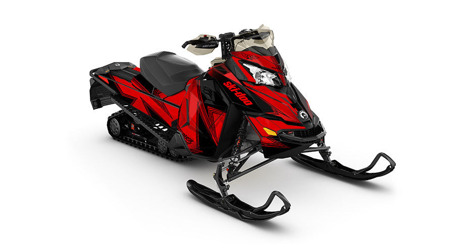 Zinger REV-XS Sled Wrap Decal