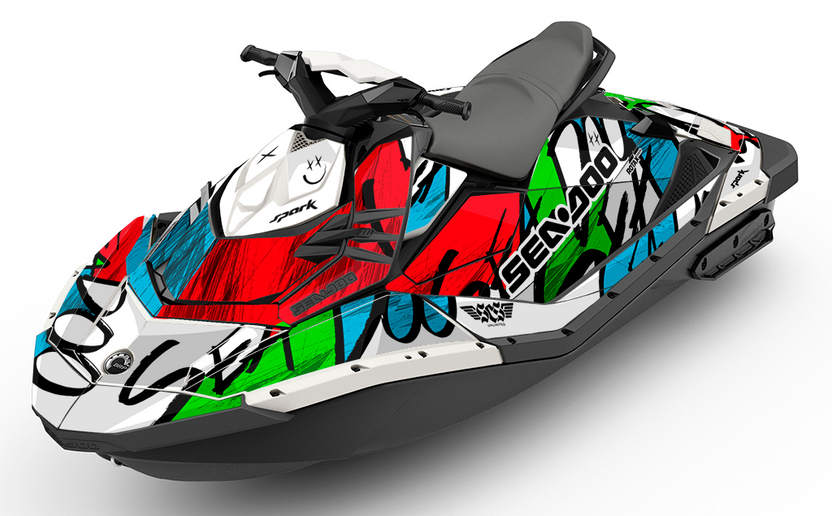 Zoovie Sea-Doo SPARK Graphics Kit