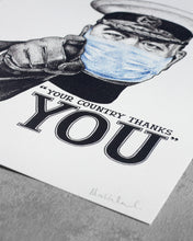 """YOUR COUNTRY THANKS YOU"" - NHS Charity Limited Edition Print"