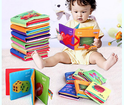 Cloth Baby Books
