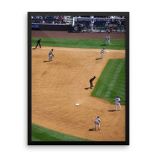 Line Drive For Two Framed Print
