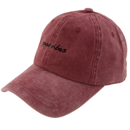 GOOD VIBES DAD HAT